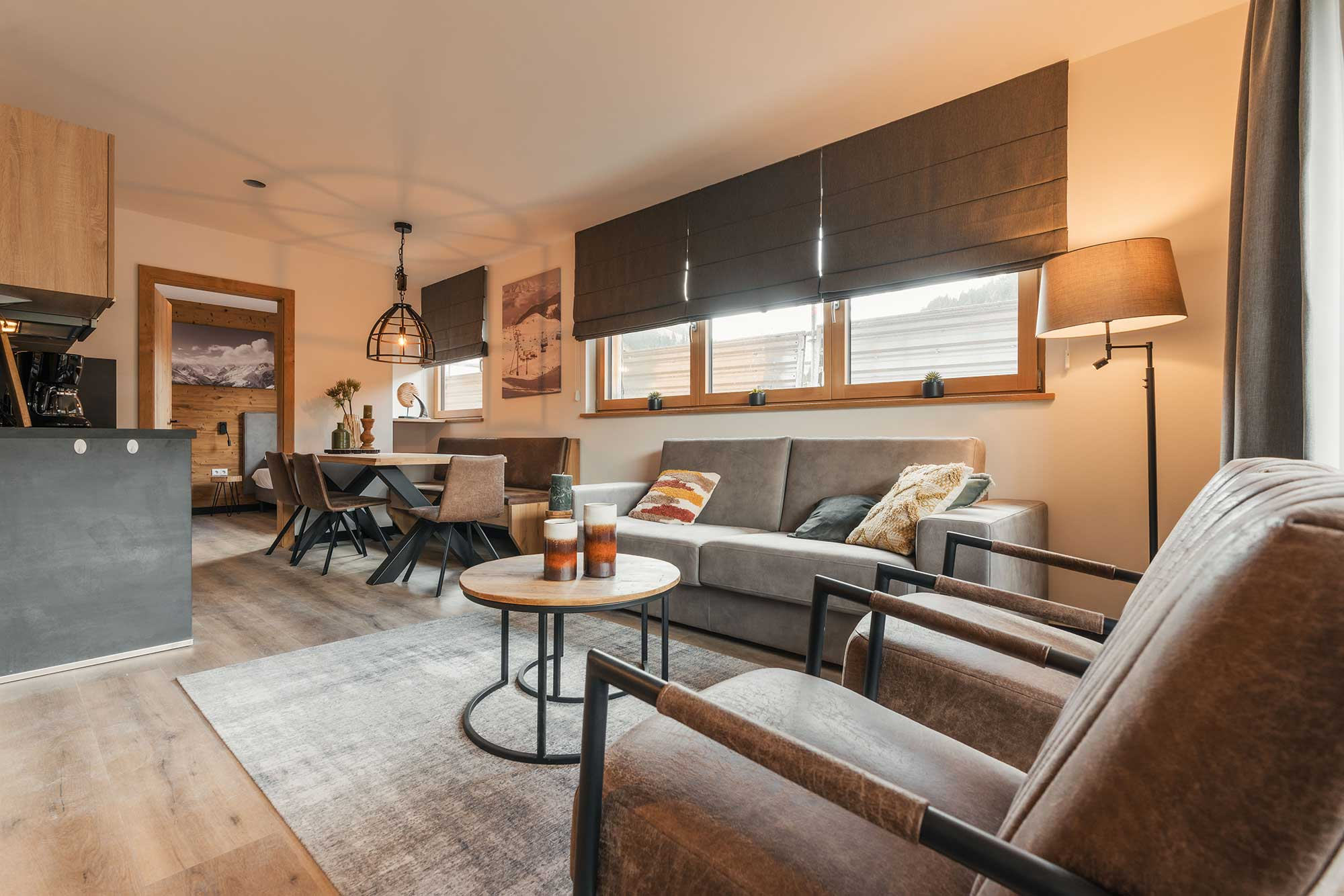 Exclusive and complete furnishing - Alpin Resort Montafon Buy-to-Let