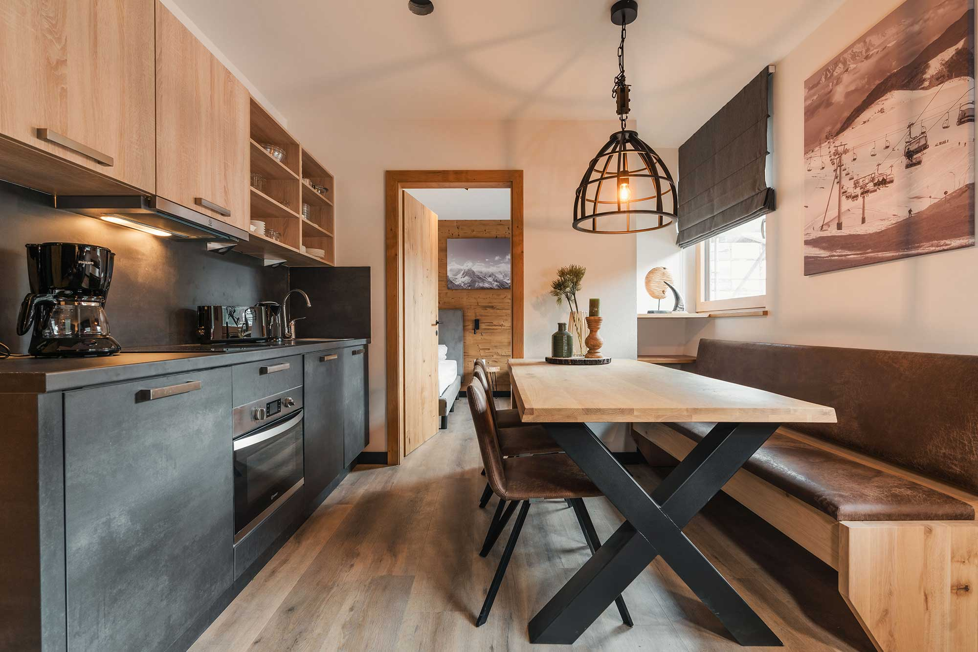Fully equipped kitchen - Alpin Resort Montafon apartment