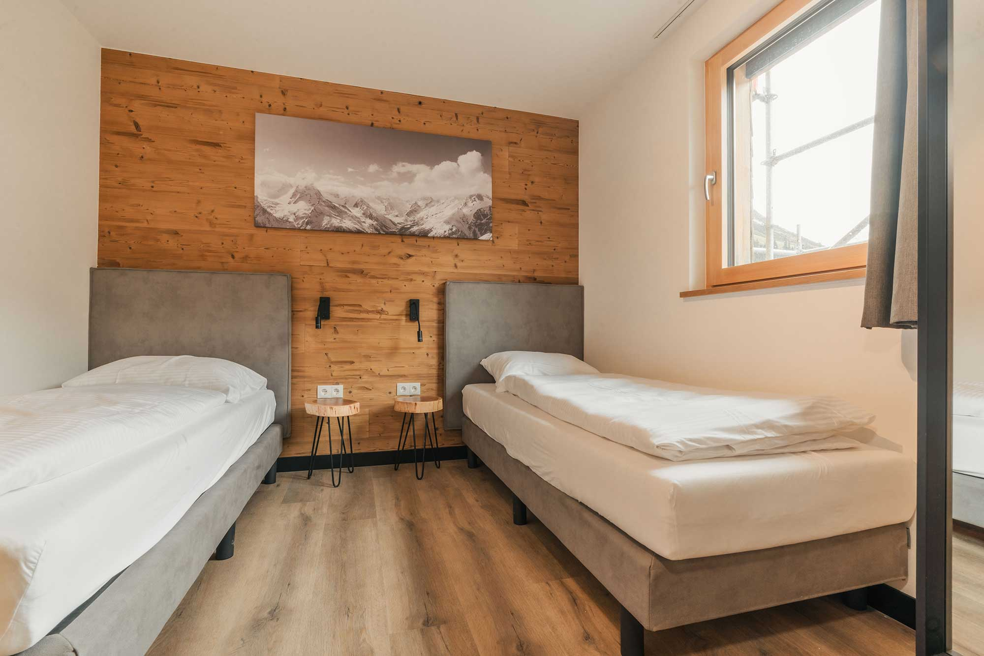 Guest room - Alpin Resort Montafon holiday apartment to buy
